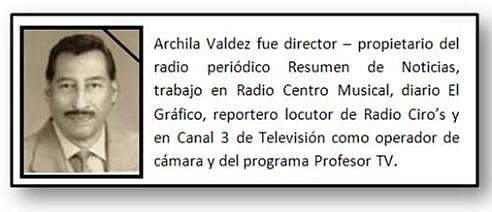 Julio César Archila Valdez (qepd) Foto cortesía archivo IPSP