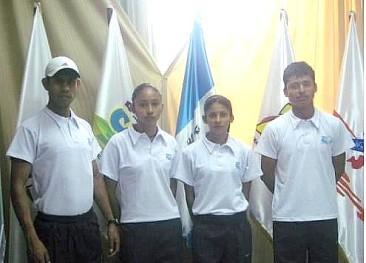 Anibal Paau -Jamy Franco - Mirna Ortiz y Erick B Brrondo - (Foto, FNA).
