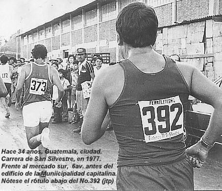Carrera San Silvestre 1977 por 6av mercado sur a media cadra de la muni -