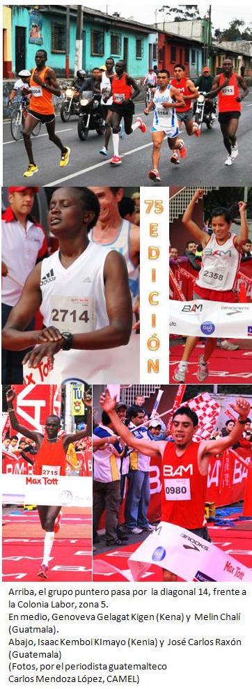 Medio maratón Max Tott edición 75, en 2012 29-01
