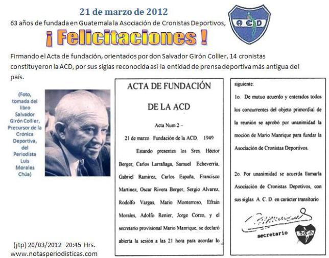 ACD 63 AÑOS DE FUNDACIÓN -21-03-2012- acd-