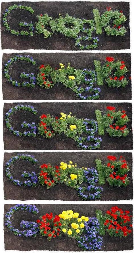 Google Día de La Tierra - Su logo especial. 22-04-2012.