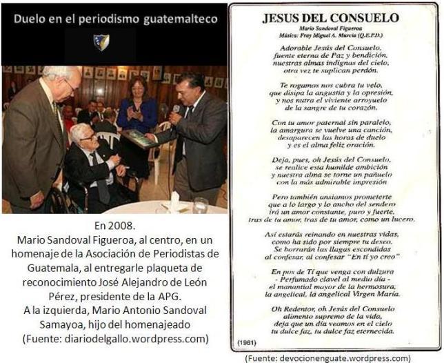 Mario Sandoval Figueroa (24/08/1918 - 27/04/2012)