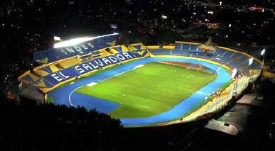 "Estadio nacional ""Jorge Mágico González"", San salvador, ESA."