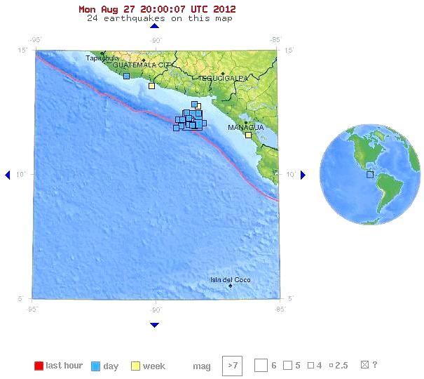 Sismos El Salvador 27082012   14.00 UTC USGS