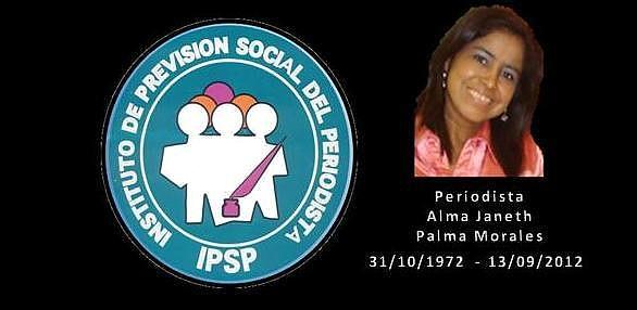 Periodista Alma Janeth Palma Morales -31101972 -13092012