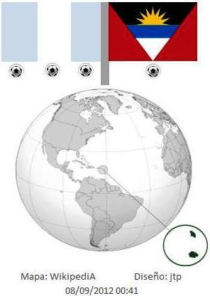 Guatemla  3 - Antigua y Barbuda 1 > Rumbo al Mundial de la FIFA Brasil 2014. 07092012