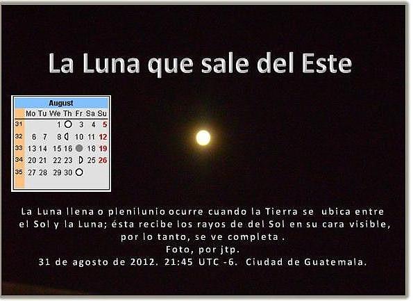 Luna llena 'azul' del 31 deagosto e 201 21.45hrs -jtp-