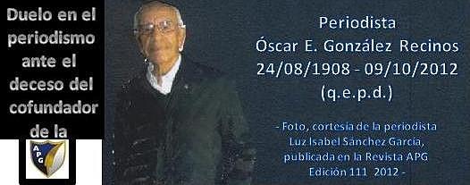 Oscar E. González Recinos -APG - +09102012