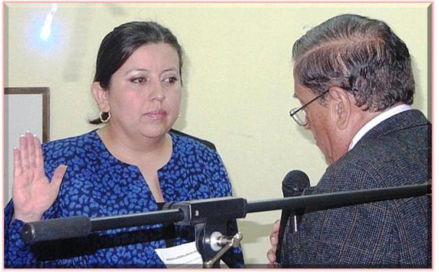 Lidia Lucía Dubón López es juramentada como Presidenta del Consejo Directivo del IPSP - (Foto, por BCTM)