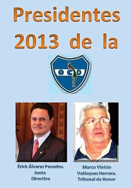 ACD  Presidentes 2013