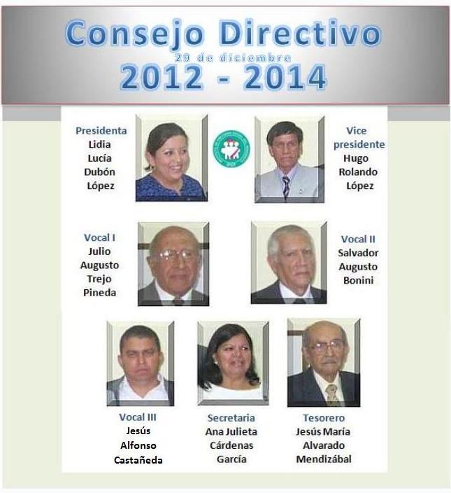 Consejo Directivo 2012 -29dic 2014