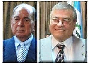 Karl Heinz Chávez, izquierda y Elías Barahona Barahona