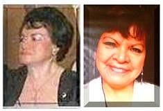Luz Isabel Sánchez García, izquierda  y Ana Julieta Cárdenas García.