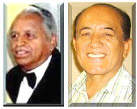 Miguel Ángel González Ortiz, izquierda  y Rogelio Mario Chacón Vega.