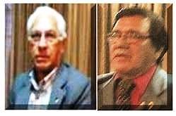Ricardo Valladares Rodríguez, izquierda y Rony Ismael Alvarado Osorio