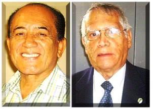 Rogelio Mario Chacón Vega y Salvador Augusto Bonini.