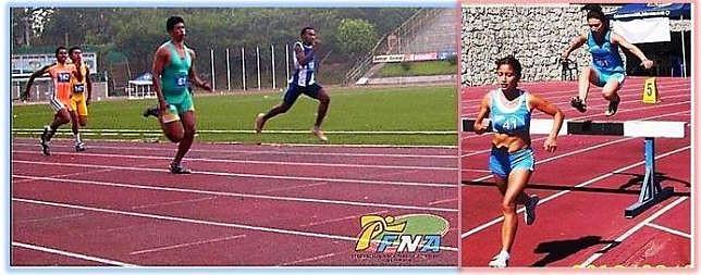 100m planos y 3 ,000 con obstáculos (FNA)