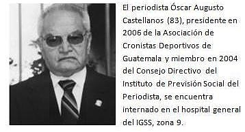 Perioidista, Oscar Augusto Castellanos. (Foto, archivo)