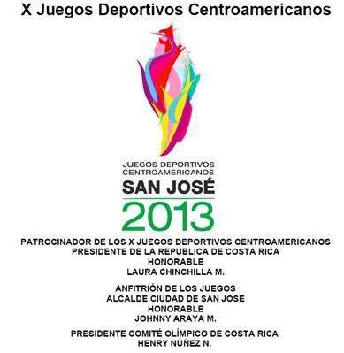 Logo X Juegos Deportivos,CA 2013 SJ.CRC.
