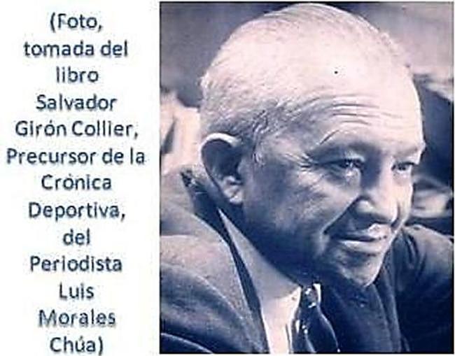 Periodista Salvador Girón Collier.