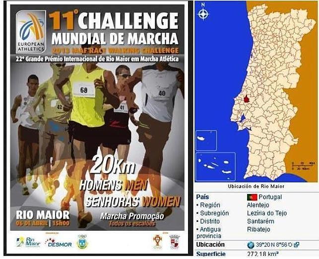 Rio Maiyor POR  -Logo (pág. oficial)  y Mapa -06 abril