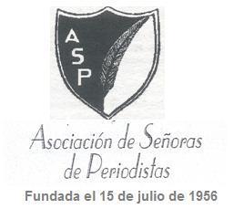 Asociación de Señoras de Periodistas. ASP - escudo