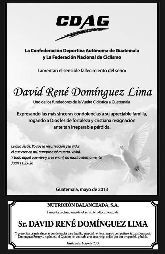 ESQUELAS.  CDAG -NUTRICION BALANCEADA -DAVID DOMINGUEZ