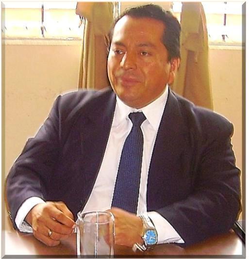 Luis Reyes García, presidente del Colegio de Abogados y Notarios de Guatemala, CANG (Foto, por Julio Trejo Pineda)