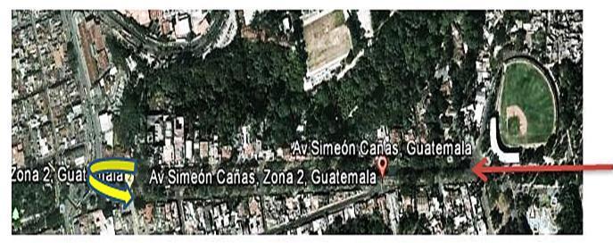 Recorrido de la XVI Copa Panamericana de marcha,con sede en la capital de Guatemala.