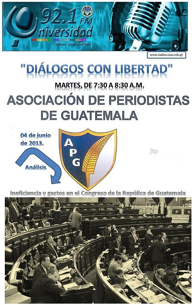 Diálogos en Libertad-APG- RadioUniversidad GUA- FM.()tp).