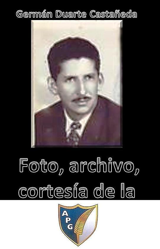 Periodista Leopoldo German Duarte Castañeda (q.e.p.d.).