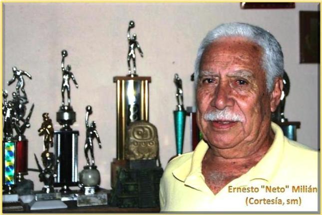 Ernesto -Neto- Milián -u -  (Foto, cortesía SM).
