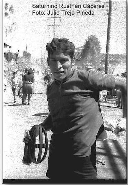 Saturnino Rustrián Cáceres -archivo jtp