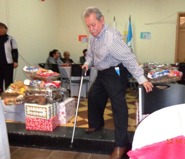 Julio César Hernández Ramírez, afiliado 85, de reciente 79 años cumplidos el pasado tres de diciembre (jtp).