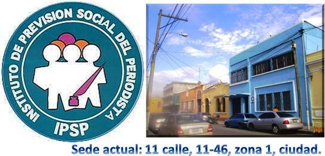 Logo y edificio del IPSP -Guatemala . a 1320131530.