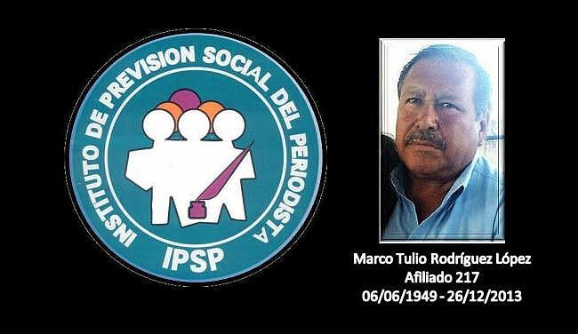 Marco Tulio Rodríguez LÓpez - -