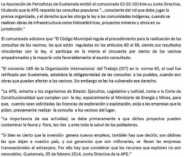 COMUNICADO 02-02-2014-JD- del 0502