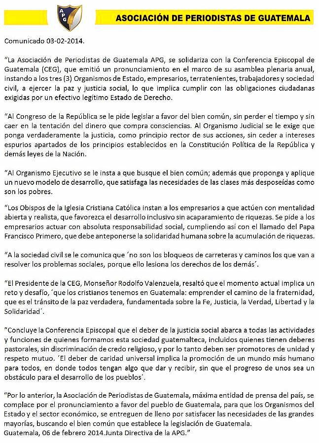 COMUNICADO 03-02-2014-JD-DEL 0602