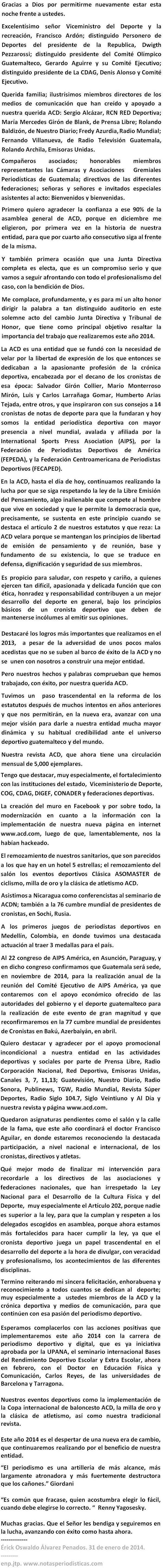 DISCURSO ERICK ALVAREZ PENADOS acd 31124.