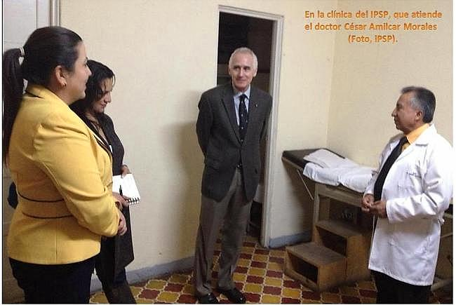 En la clínica del IPSP (Foto, IPSP).