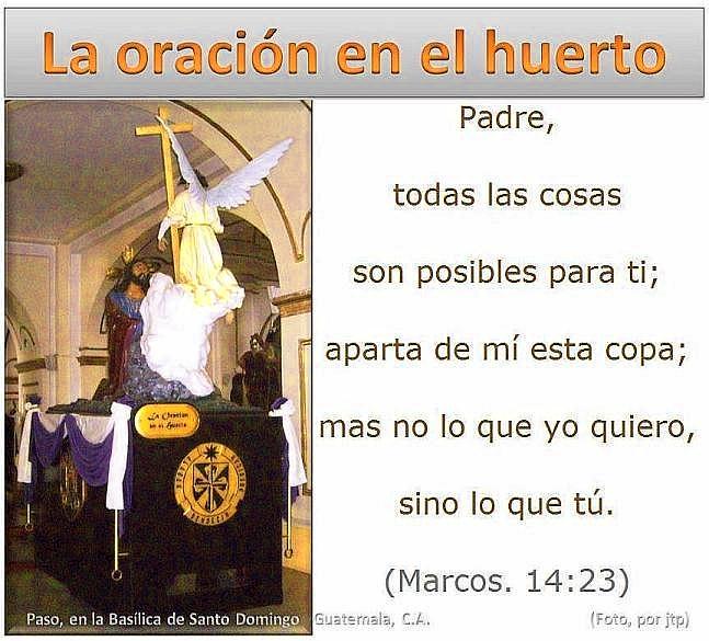 01 Paso La Oración en el Huerto
