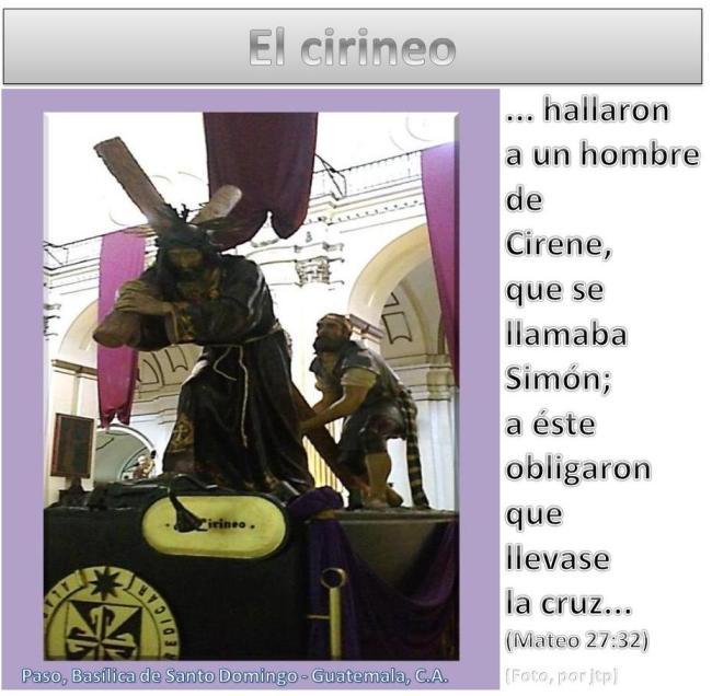 06 El Cirineo