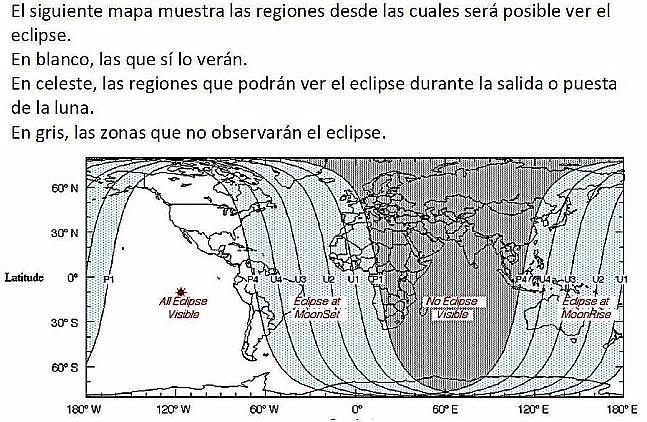 Eclipse total abril 15 -2014 Regiones blanco -celeate -gris -