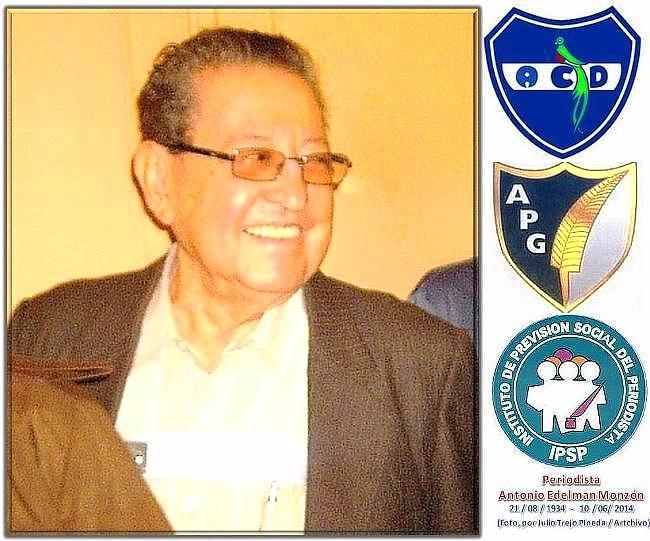 Antonio Edelman Monzón -sus entidades de prensa.jtrp