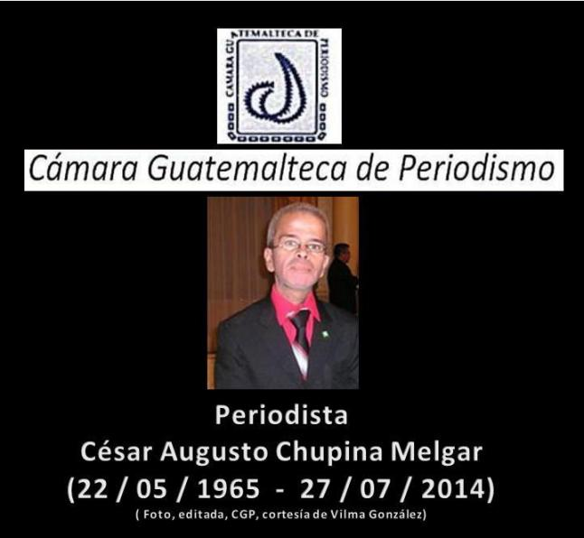 César A. Chupina Melgar.