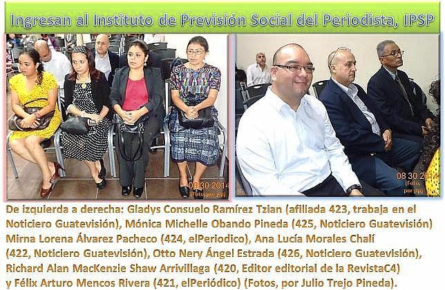 .LOS 7 JURAMENTADS EN EL IPSP.  ---  JPG