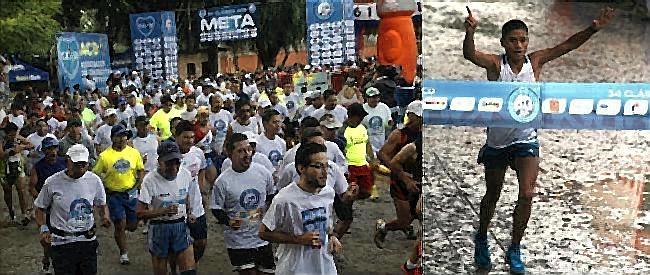 Mario Pacay con su primer triunfo en la Clásica ACD (Fotos, por el periodista Carlos Mendoza López  15/09/2014).