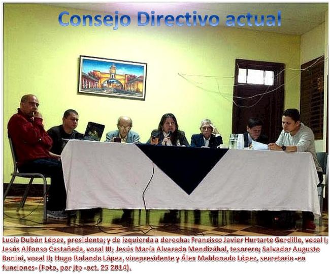 Consejo Directivo actual -foto 255102014-jtp