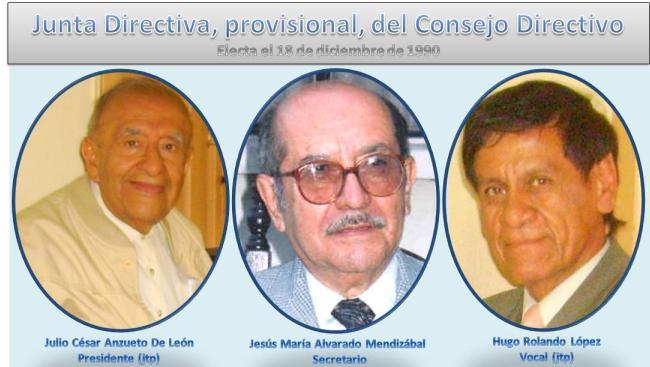 Junta Directiva -provisiinal 1990 IPSP